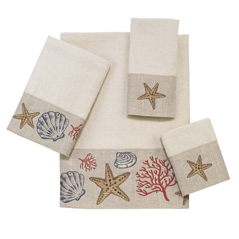 Sea Treasure 4-piece Towel Set
