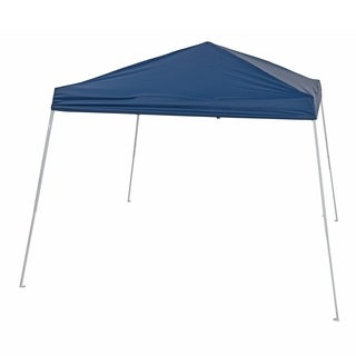 TrueShade Plus Canopy Shade Blue or Beige 8' x 8' Instant Pop-up Folding Canopy With Roller Bag