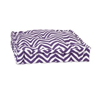 Purple Chevron Floor Cushion