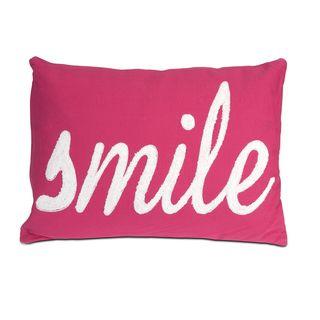 Suzie Smile Throw Pillow