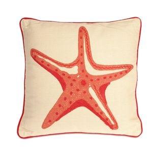 Careen Starfish Throw Pillow