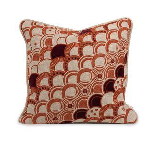 IK Haliea Embroidered Throw Pillow w/ Down Insert
