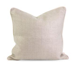 IK Winema Linen Throw Pillow w/ Down Fill