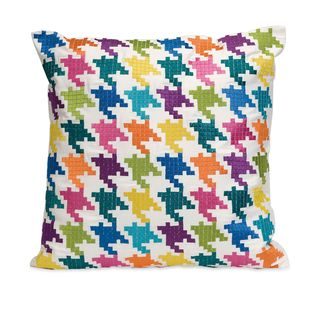 Abrielle Embroidered Throw Pillow