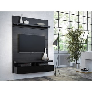 Manhattan Comfort Cabrini 1.2 Floating Wall Theater Entertainment Center