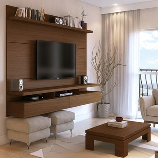 Manhattan Comfort City 2.2 Floating Wall Theater Entertainment Center