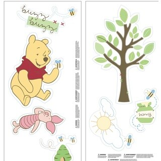 ABC Pooh Wall Decals