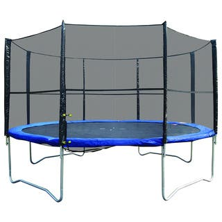 Super Jumper 14-foot Trampoline Combo With Safety Net|https://ak1.ostkcdn.com/images/products/11818733/P18724923.jpg?impolicy=medium