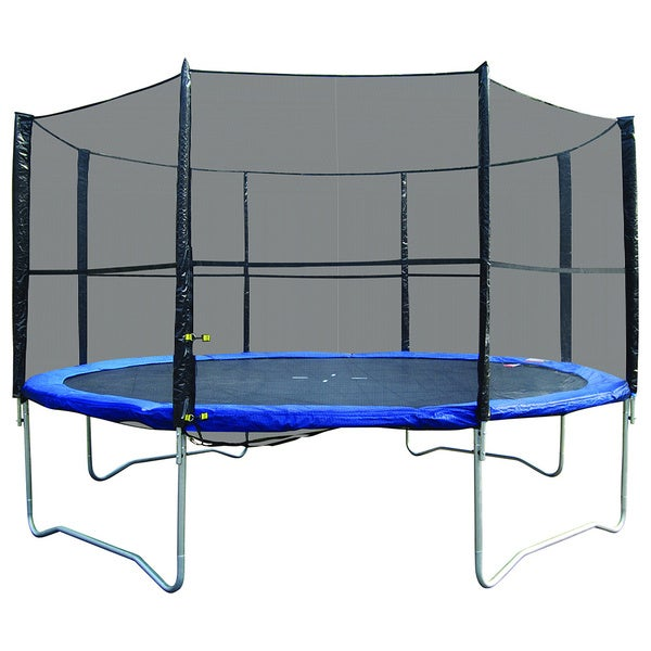 14 Ft Trampoline Combo Bounce Jump: Shop Super Jumper 14-foot Trampoline Combo With Safety Net