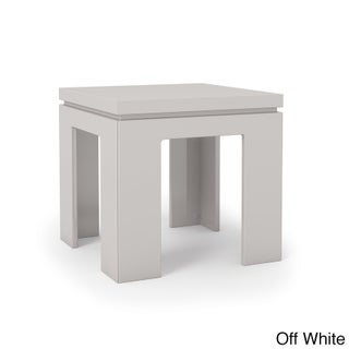 Manhattan Comfort Bridge 1.0 21-inch Square Length Modern Accent End Table (2 options available)