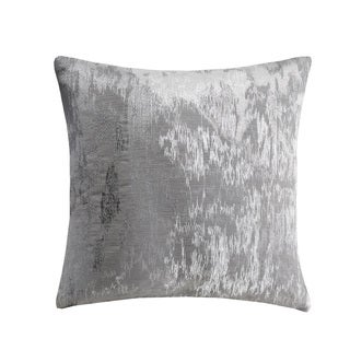 Metropolitan Home Brockton Grey Square Throw Pillow