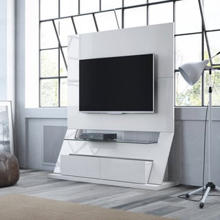 Manhattan Comfort Intrepid Freestanding Theater Entertainment Center