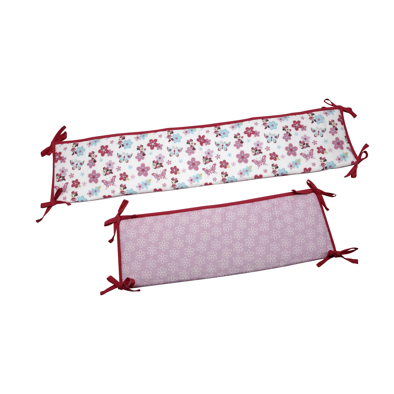Crown Crafts Disney Baby Minnie's Garden Portable Crib Bu...