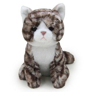 Kityu Gifts Brown Bengal Stripe Plush Kitten