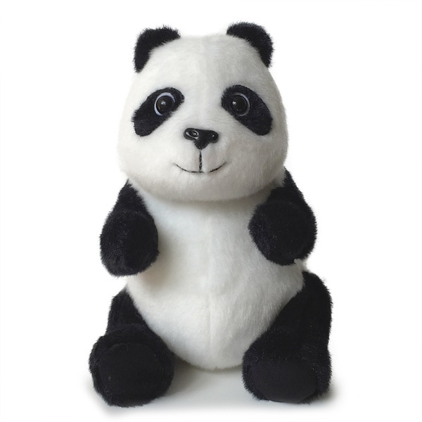 Kityu Gifts Plush Seated Stuffed Panda Toy