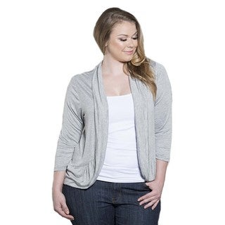 Sealed with a Kiss Women's Plus Size Amber Shrug