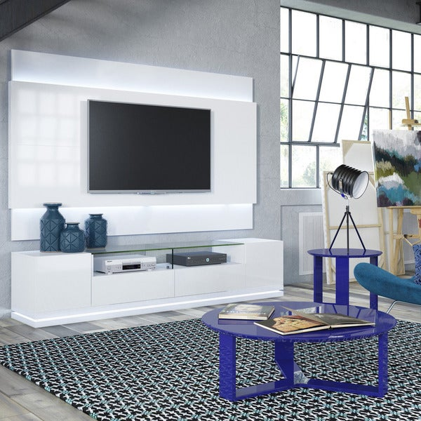 Shop Manhattan Comfort Vanderbilt Tv Stand And Lincoln 2 2