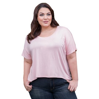 Sealed with a Kiss Women's Plus Size Ollie Oversized Top