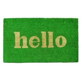 Hello Doormat (2' x 3')