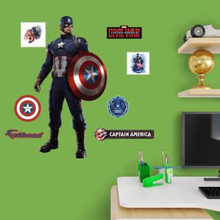 Captain America Civil War Fathead Jr.