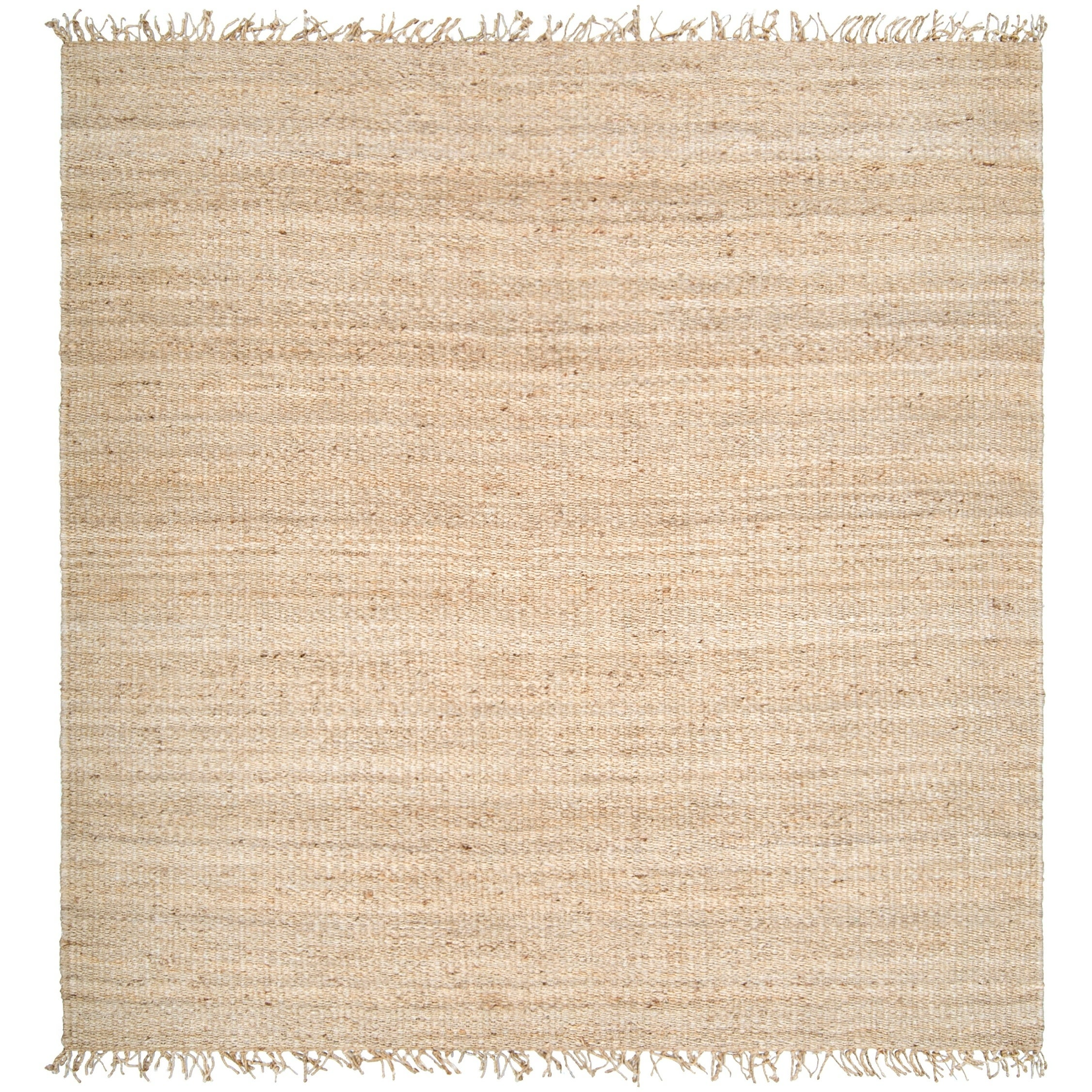 Hand Woven Jute Bleached Area Rug