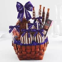 Grand Signature Caramel Apple Basket