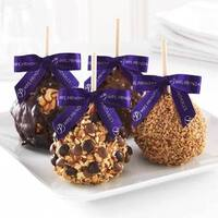 Nut Lovers 4-pack Caramel Apple Gift