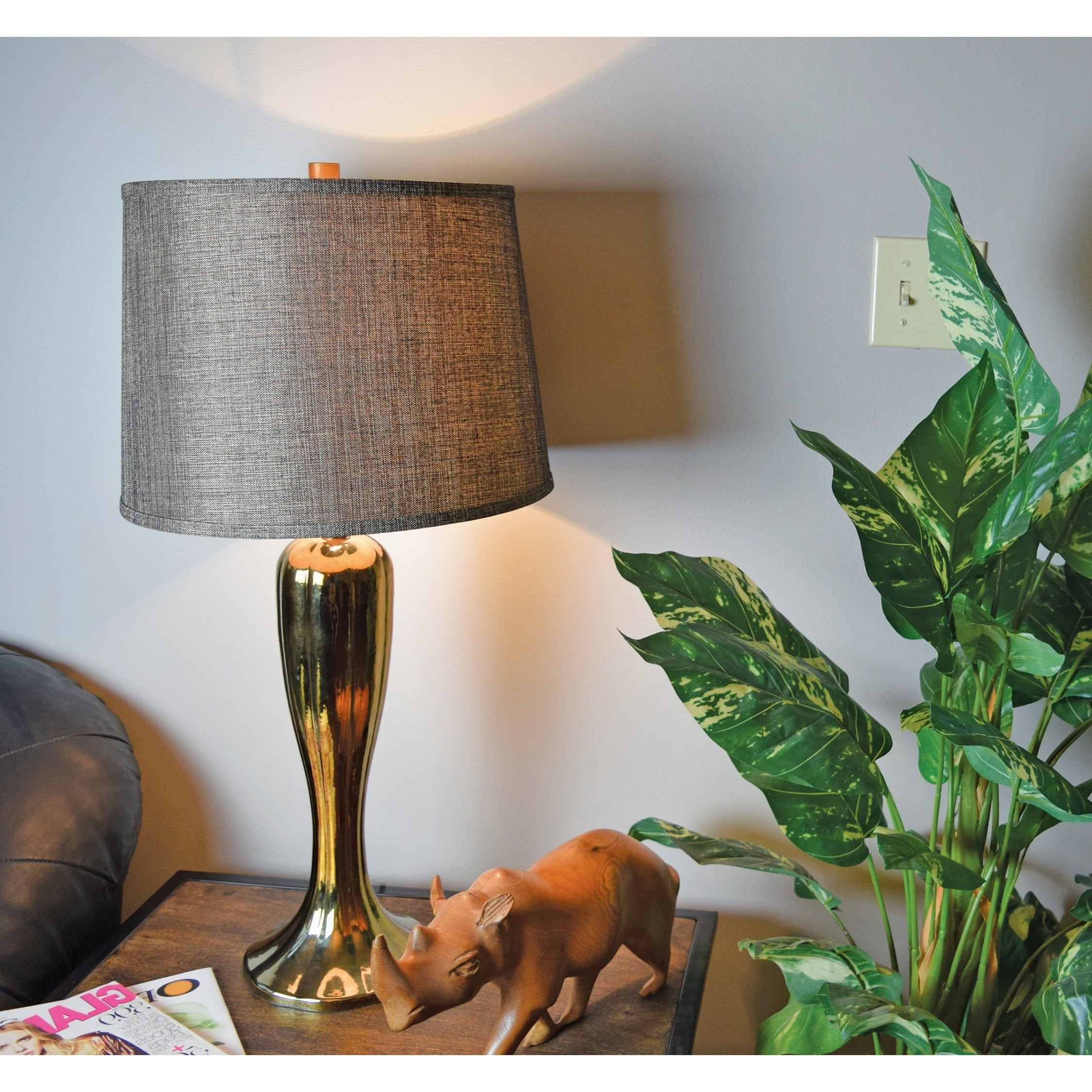 """Design Craft Gown 30-inch Table Lamp (Gown 30"""" Table Lamp..."""