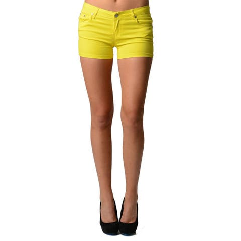 Women's Neon Color Shorts
