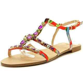 INC International Concepts Women's Gypsiee Multi-Colored Jeweled Synthetic Sandals