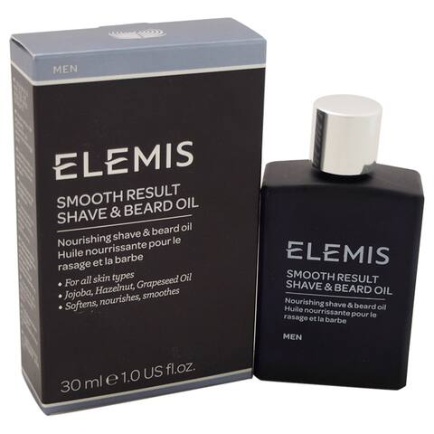 Elemis Smooth Result 1-ounce Shave and Beard Oil