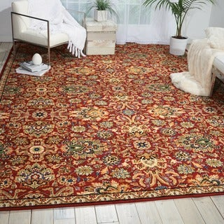 Nourison Timeless Red Rug (7'9 x 9'9)
