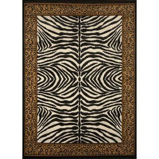 Home Dynamix Zone Collection Transitional Multicolor Area Rug (5'2 x 7'4)