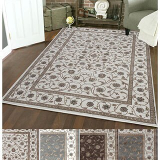 Admire Home Living Plaza Vines Area Rug (3'3 x 4'11) - 3'3 x 4'11