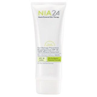 NIA24 Sun Damage Prevention 100-percent Mineral 2.5-ounce SPF 30 Sunscreen