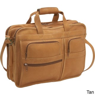 LeDonne Leather Multi-function Leather Briefcase