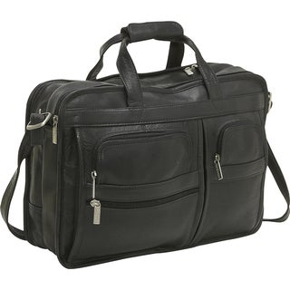 LeDonne Multi-function Leather Briefcase