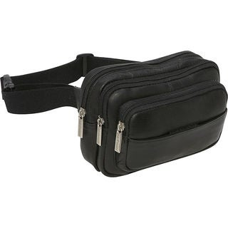 LeDonne Leather Four-compartment Leather Waist Bag