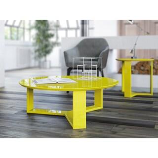 Manhattan Comfort Madison 2-Piece Accent Table Living Room Set