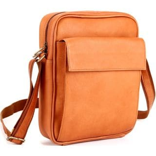 LeDonne Leather 12.5-inch x 10.5-inch x 3.5-inch Tech-friendly Carry-all Bag