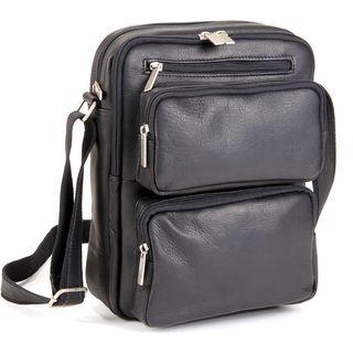 LeDonne Leather Multi-pocket Tech Bag
