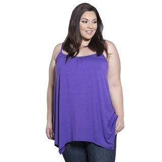 Sealed with a Kiss Women's Plus Size Brooke Tank
