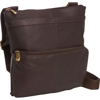 LeDonne Waterfall Crossbody Leather Handbag