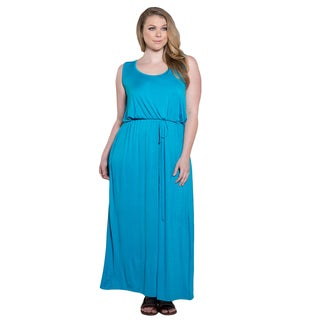 Sealed with a Kiss Women's Plus Size Valerie Maxi Dress