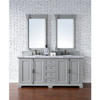 Providence Urban Grey 72-inch Double Vanity Cabinet