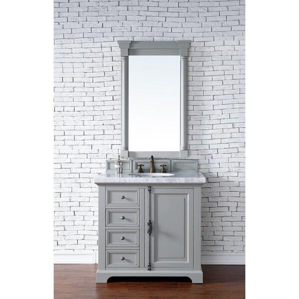 Providence Urban Gray 36-inch Single Vanity Cabinet - Free ...