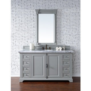 Providence Urban Grey 60-inch Single Vanity Cabinet