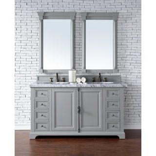 Providence Urban Grey Oak 60-inch Double Vanity Cabinet