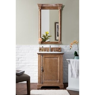 Providence Driftwood Oak/Veneer 26-inch Single Vanity Cabinet