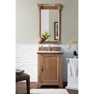 "Providence 26"" Single Vanity Cabinet, Driftwood"